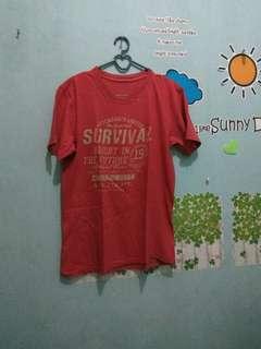 Kaos merah *free