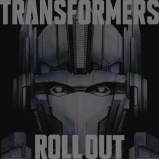VARIOUS ARTISTS 'Transformers Roll Out' Limited Edition Picture LP