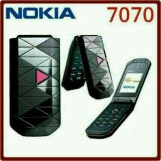 Handphone nokia 7070 PRISM