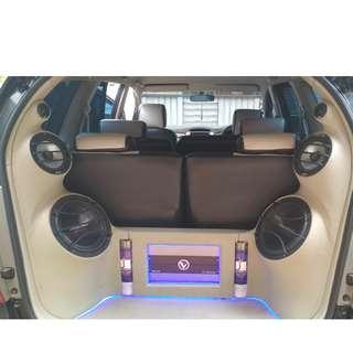 Audio mobil mulus dan suara bening