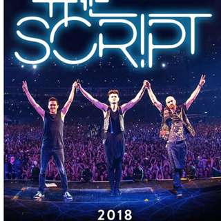 3 Lower Box B Tickets for The Script Freedom Child Tour