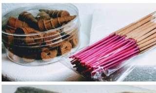 Affordable 越南 Vietnam Agarwood Cones=S$8  /   越南Vietnam Incense Sticks=S$8