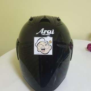 1502♡♡TSR RAM4 BLACK v Dark Visor Helmet CONVERT TO ARAI 🦀 For SALE, Yamaha Jupiter, Spark, Sniper,, Honda, SUZUKI