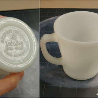 Fire King Anchor Hocking Jadeite vintage,  1pc Mug Cup,  color : milk white, Made in USA