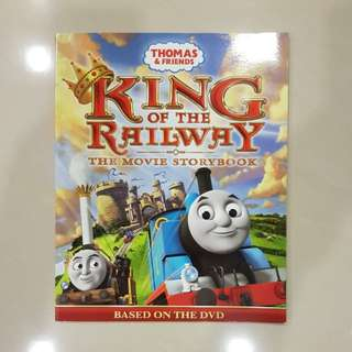 Thomas & Friends - King of the Railway The Movie Storybook