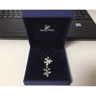 Swarovski 施華洛世奇 水晶拼圖頸鍊 Crystal Puzzle Piece Necklace Set 692716