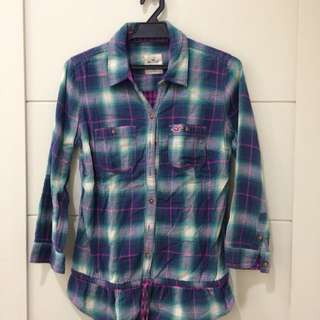 Hollister Checkered Shirt