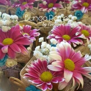 Bunga Rampai / Gubahan Hantaran / Wedding Favors