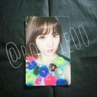 [GFRIEND] The Awakening Eunha Official Photocard