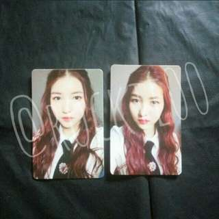 [GFRIEND] The Awakening Sowon Official Photocards