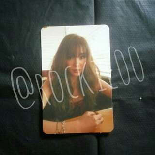 [TIFFANY] I Just Wanna Dance Official Photocard