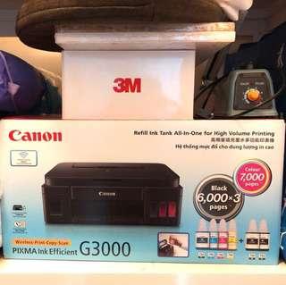 Canon G3000 Printer Wireless-Print-Copy-Scan