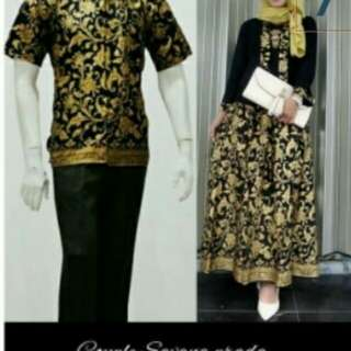 Batik couple savana.
