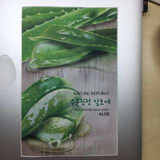 Nature Republic Aloe Mask Sheet