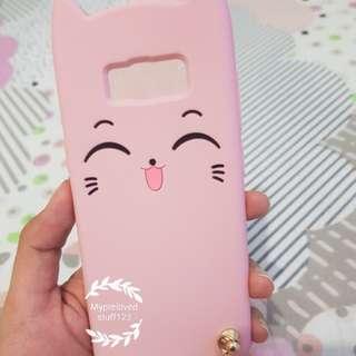 Pink Kitty Soft Case Samsung S8