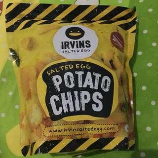 Irvins Salted Potato Chips✨