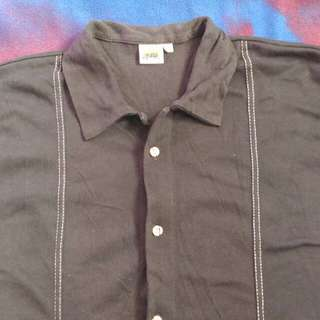 (REPRICED) SOUTH WIND Black Polo