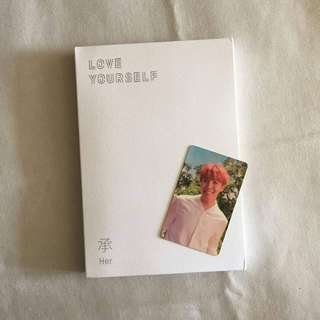 BTS LOVE YOURSELF O VER (JHOPE PC)