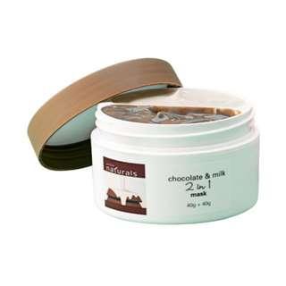 Chocolate and Milk Dual Mask 40 g + 40 g