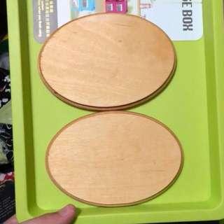 Wood items from art friend