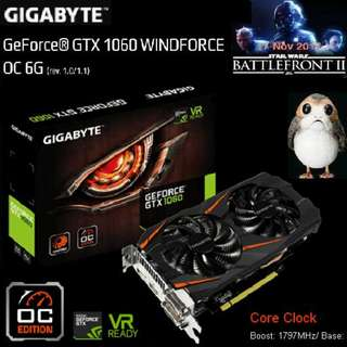 Gigabyte GTX 1060 WINDFORCE OC 6G  GeForce® Got Stock... (Hurry ..grab it a bit Quicker on CNY 1st, 2nd 3rd days...while stock last..)