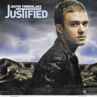 MY CD -JUSTIN TIMBERLAKE - JUSTIFIED - // FREE DELIVERY BY SINGPOST