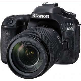 Canon eos 80d 18-135mm kit