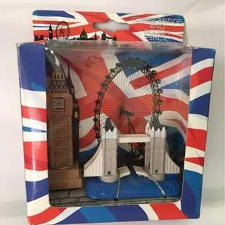 Tower Bridge and Big Ben Pencil Sharpeners Gift Set
