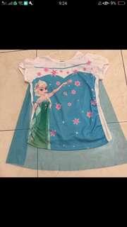 Elsa Shirt with Cape