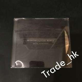散售!全新未使用 PS4 Monster Hunter World Collector's Box 特典內附 CD Special Soundtrack 魔物獵人