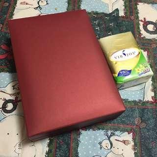 周大福 頸鏈 盒 Chow Tai Fook box for necklace for gift and keepsake