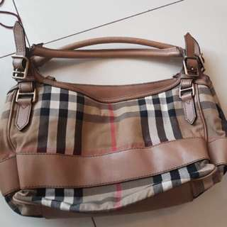 Authentic Burberry Handbag