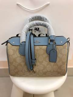 Coach Mini Bennett Original Coach Handbag
