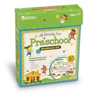 BRAND NEW Learning Resources All Ready For Preschool Readiness Kit