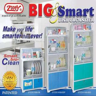 Big and Smart Dish Cabinet and Drawer