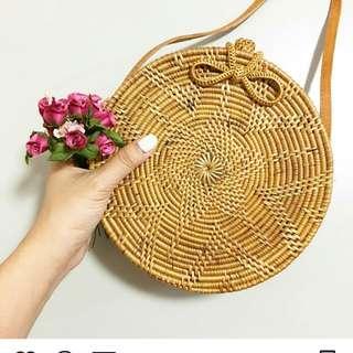 Classic Flora Rattan bag AVAILABLE NEXTWEEK!!!