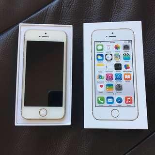Gold iPhone 5s (32GB)