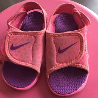 (FreePos) Pre💕Authentic NIKE Sunray Adjust for Toddler