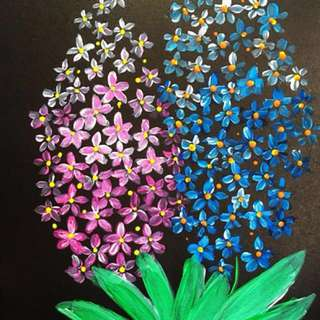 My flower painting