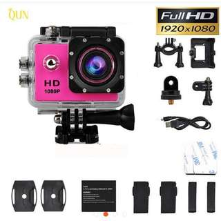 "🎁🎁 CNY promotion 🎁🎁 Action Camera Waterproof Full HD 1080P 2""LCD"
