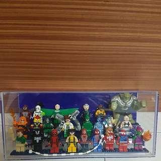 Lego marvel minifigs