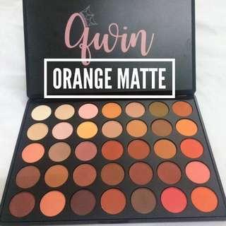 Qwin (35) eyeshadow Pallete (orange matte)