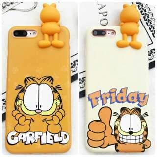 Garfield 立體 IPhone殼