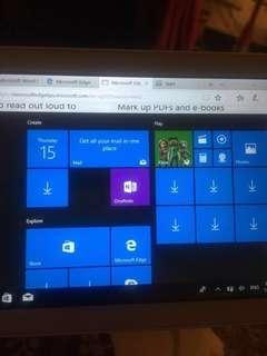 "Windows10 tablet 7"""