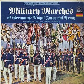 Military Marches, Vinyl LP, used, 12-inch original (mostly USA) pressing