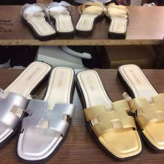Chanel slipper size : 36-40