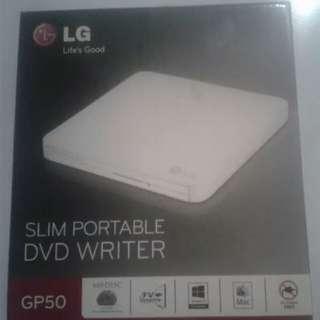 LG Slim Portable DVD Writer