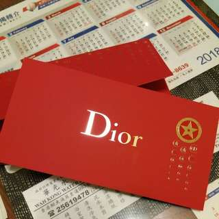 Dior Red packet x 8
