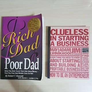 Rich Dad Poor Dad, Entrepreneur Books