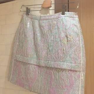 Sandro shiny skirt